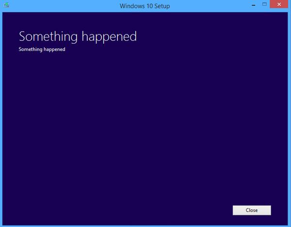 简易的系统报错措施,很容易引起用户不适。